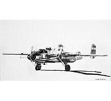 "B-25 ""Billy Mitchell"" attack bomber Photographic Print"