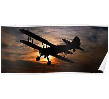 Boeing Stearman Poster