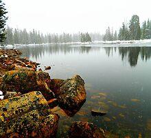 Mountain Lake by JoAnn Glennie