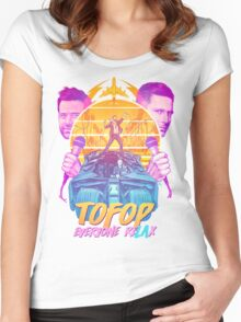 TOFOP - Everyone reLAx (t-shirts) Women's Fitted Scoop T-Shirt