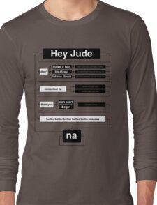Hey Jude Long Sleeve T-Shirt