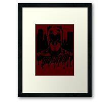 Daredevil : The devil in hell's kitchen Framed Print