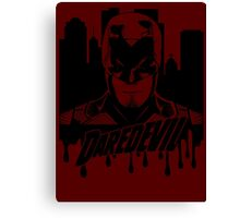 Daredevil : The devil in hell's kitchen Canvas Print