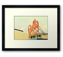 candy of the sea Framed Print