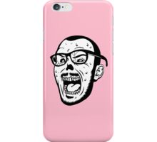 Owl Vision Zombie Face (pink) iPhone Case/Skin