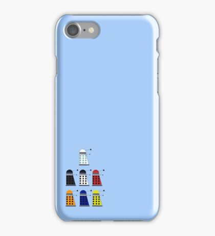 The Daleks iPhone Case/Skin