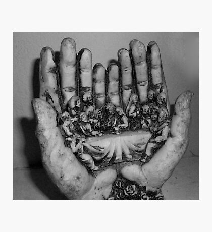 IN SAFE HANDS Photographic Print