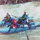 Rafting on the Animas River, Colorado, USA by Adrian Paul