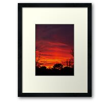 Nebulous Skies Framed Print