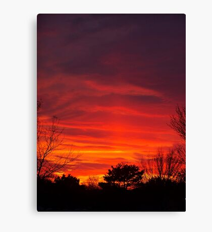 Nebulous Skies Canvas Print