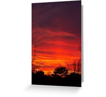 Nebulous Skies Greeting Card