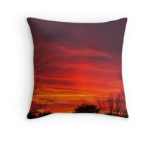 Nebulous Skies Throw Pillow