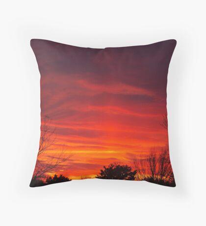 Nebulous Skies Throw Pillow