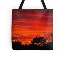 Burning Bushes Tote Bag