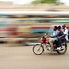 Sometimes Haiti is a Blurrrrrrrr by Kent Nickell