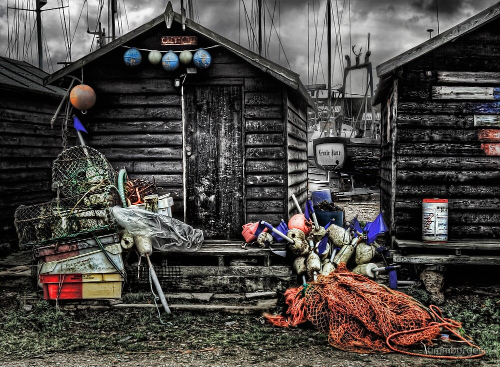 Pots and Nets by timmburgess