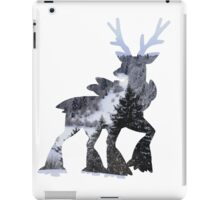 Sawsbuck (winter) used natural gift iPad Case/Skin