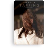 Amanda Tapping - HAIR Metal Print