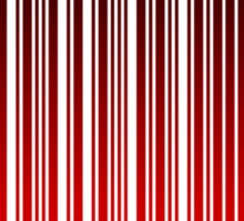 MERRY XMAS BARCODE Sticker