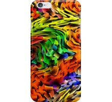 Waves and Motion in Color - phone case iPhone Case/Skin