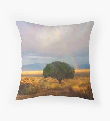 Desert Hope Throw Pillow