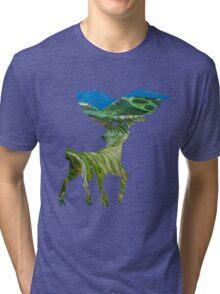 Sawsbuck (summer) used solar beam Tri-blend T-Shirt