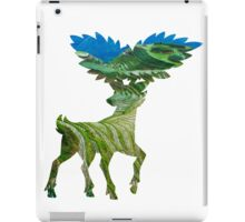 Sawsbuck (summer) used solar beam iPad Case/Skin