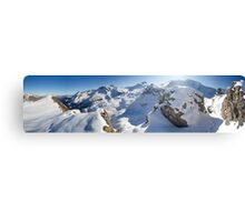 Fall in the Alps Canvas Print