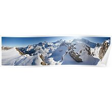 Fall in the Alps Poster
