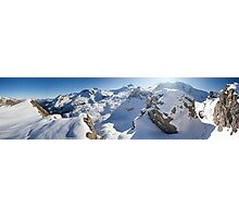 Fall in the Alps Photographic Print