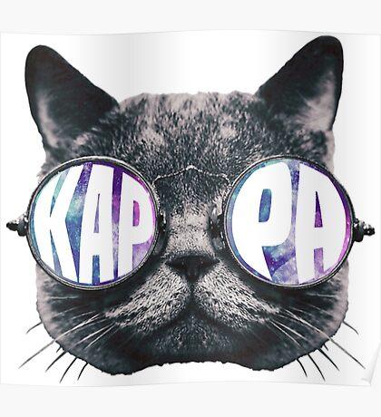 Kappa Cat Galaxy Poster