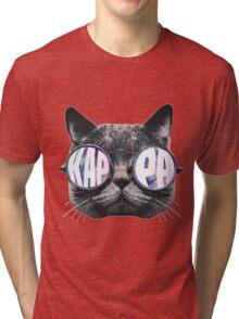 Kappa Cat Galaxy Tri-blend T-Shirt