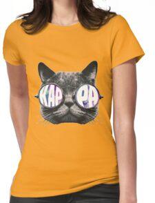 Kappa Cat Galaxy Womens Fitted T-Shirt