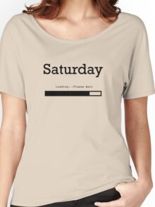Saturday Loading Women's Relaxed Fit T-Shirt
