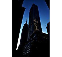 100th floor please Photographic Print