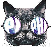 Pi Phi Cat Galaxy by trendysticks