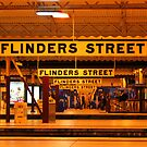 Flinders Street Station by suellewellyn