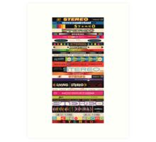 Stereo Stack Poster/Print #1 Art Print