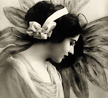 Vintage Beauty by Romanovna Fine Art Prints