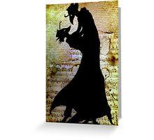 Plague Dance Greeting Card