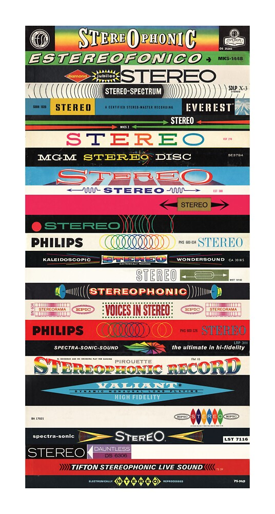 Stereo Stack Poster/Print #2 by jivetime