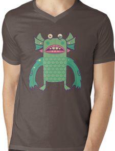 Black Lagoon Monster's Ugly Brother Mens V-Neck T-Shirt