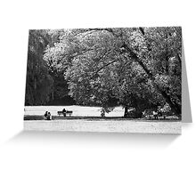 Munich Park Greeting Card