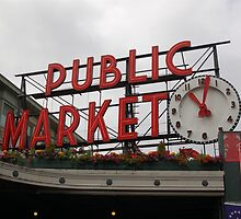 Pike Place Market by Jan  Stroup ~ Photojournalist