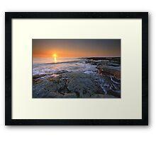 """Tomorrow Always Comes"" ∞ Caloundra, QLD - Australia Framed Print"