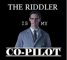 The Riddler Is My Co-Pilot Photographic Print