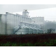 Silence of the silos Photographic Print
