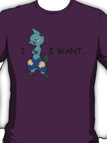 I Dewott I Want T-Shirt