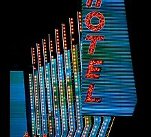Las Vegas Neon Collection - Binions Hotel by Bobby Deal