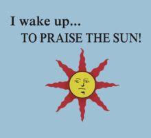 Wake up to praise Kids Tee